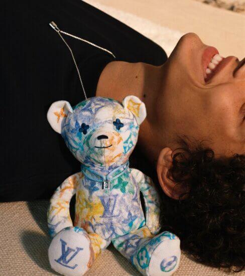 brazaletes Silver Lockit y el oso Doudou Louis en favor de los niños