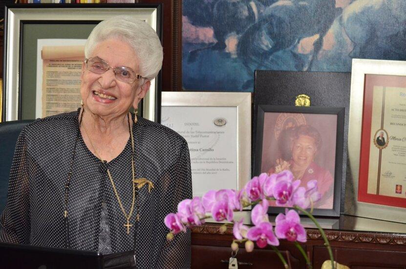Un reconocimiento para María Cristina Camilo