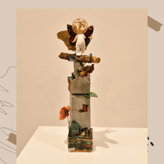 Melissa Roedán expone sus obras en arte San Ramón
